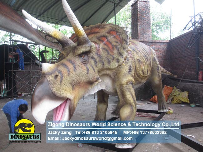 Children's science education model Animatronics Triceratops DWD038-3