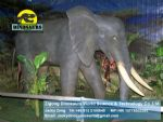 Life size Elephant exhibition animals DWA005