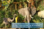 Playground Equipment animatronic animals show elephant  DWA015