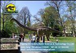 Park playground equipment molding dinosaurs ( Diplodocus ) DWD042