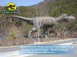 Outdoor Amusement park animatronic dinosaurs ( Tyrannosaurus rex ) DWD048
