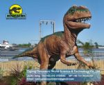 China robotic Animatronic dinosaur in park(Dilophosaurus) DWD080