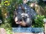 Theme park rides animatronic ainosaur ( Triceratops ) DWD083