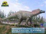 Playground park ride equipment animatronic dinosaur (Amargasaurus) DWD102