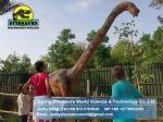 Dinopark museum animatronic dinosaurs (Dilophosaurus) DWD110
