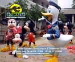 Donald Duck and Mickey Mouse DWC028