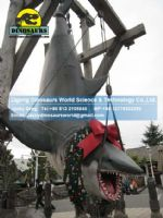 Playground Items sharks with Xmas decoration DWE020