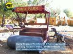 Theme Park cartoon roller for tourist take photos DWE028