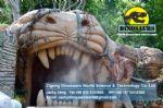 Theme park entrance decoration t-rex head DWE032