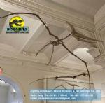 Showroom science dinosaurs skeleton replica pterosaurs DWS012
