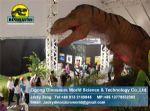 Kids entertainment games animatronic dinosaurs model (T-rex) DWD117