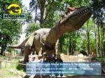Children outdoor games dinosaurs character toys ( Allosaurus ) DWD122