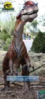 Outdoor dinosaurs model look dinosaurs dilophosaurus DWD137