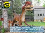 Outdoor animated christmas artificial animals Museum(Dilophosaurus ) DWD132