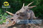 Children playground equipment  animatronic dinosaurs Styracosaurus DWD147