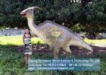Cooking for kids life size dinosaurs Parasaurolophus DWD152