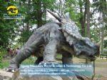 2014 New children dinosaur outdoor playground Styracosaurus DWD155