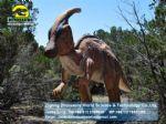 Dinopark artificial dinosaur kids playground ride Parasaurolophus DWD157