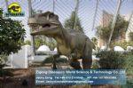 Life size animatronic dinosaur bronze statue (Allosaurus) DWD165