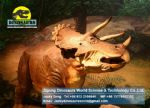 Amusement park children outdoor games dinosaurs (Triceratops) DWD171