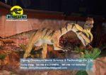 Dinosaur manufacturer model animals statue (Dilophosaurus) DWD175