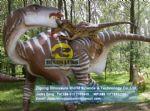 Kids playground Amusement slides effects (Iguanodon) DWD176