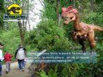 Electric amusement park equipment dinosaurs (Dilophosaurus) DWD177