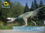 Theme park resin dinosaur head suppliers utahraptor DWD186
