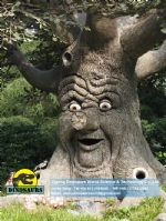 Animatronic talking tree Christmas tree for decoration DWC017