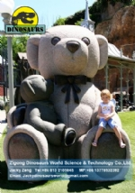 Garden decoration Big teddy bear statue DWC043