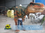 Realistic life size dinosaur costume jurassic park DWE3324-2