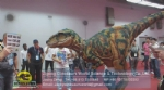 T-REX Dinosaur Costume Show to 2014 Canton Fair Exhibition Customers DWE3324-17