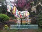 Movie theme park zebra sculpture replica DWC054