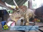 Children's science education model Animatronics Triceratops DWD038-3