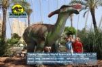 Dinosaur exhibition Animatronic Dinosaur Parasaurolophus DWD1330