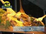 Theme Park Animatronic Velociraptors for Dinosaur exhibition DWD1334