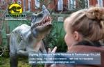 Jurassic World movie Animatronic Ornitholestes DWD1335