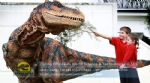 High quality life size animatronic robotic dinosaur costume DWE3324-11