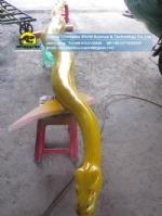 Fiberglass (patteraless)burmese python replica DWA138