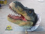 T-rex sculpted dinosaur head no movements DWE052