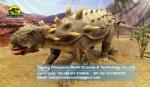 Jurassic world electric dinosaur model Ankylosaurus DWD1465