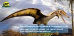Life size flying dinosaurs pterosaur ( Standing on the trunk ) DWD1460