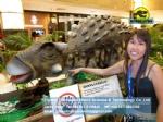Robotic dinosaur CE standard alive animated Ankylosaurus DWD1464