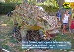 Holiday decorations supplies simulation dinosaur model ankylosaurus DWD1463