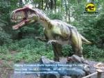 High-quality robot allosaurus animatronic dinosaur DWD1455