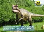 Animatronic dinosaur model in dinosaur park big allosaurus DWD1454