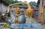 Animation sculpture Madagascar Animals Team DWC056