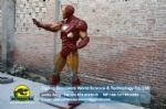 Cartoon character in movie animatronic Iron Man DWC058