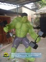 Hollywood, movie heroes model Hulk DWC060