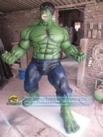 Hollywood Movie Green Hulk Hero Fiberglass Model DWC016-1